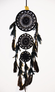 ORIENTALNY ŁAPACZ SNÓW DREAM CATCHER 105CM !!!