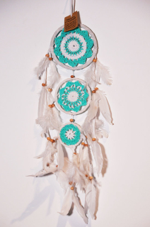 ORIENTALNY ŁAPACZ SNÓW DREAM CATCHER 60CM !!!